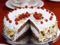 Chocolate Red Currant Cream Cake recipe