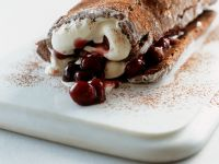 Cream Roulade with Fruit recipe