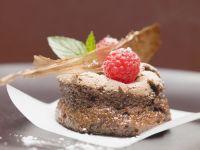Chocolate Soufflé with Caramel recipe