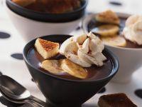 Chocolate Soup with Banana recipe