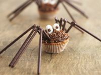 Chocolate Spider Cakes recipe