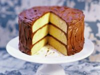 Celebration Gateau with Glaze recipe