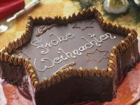 Chocolate Star Cake recipe