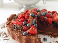 Chocolate Tart with Mixed Berries recipe