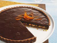 Chocolate Tart with Orange and Almond recipe