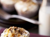 Chocolate, Toffee and Nut Cupcakes recipe
