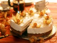 Chocolate Torte with Peach Cream recipe