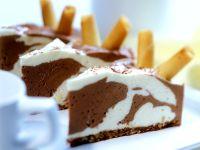Chocolate Vanilla Mousse recipe