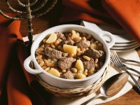 Cholent (meat and Bean Stew) recipe