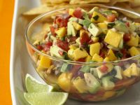 Chopped Fruit and Vegetable Salad recipe