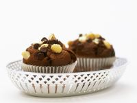 Chopped Nut and Choc Chip Cakes recipe