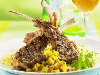 Chops with Fruit Salsa recipe