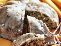 Christmas Cake with Dried Fruit recipe