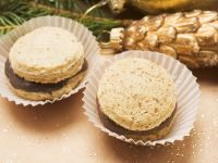 Christmas Cookies with Chocolate Filling recipe