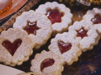 Christmas Cookies with Jam recipe