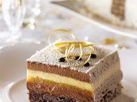 Christmas Layered Cream Cake recipe