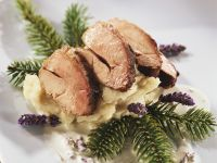 Christmas Pheasant Breast with Parsnip Puree recipe