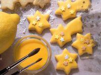 Christmas Poinsettia Cookies