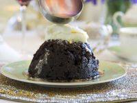 Christmas Pudding and Orange Liqueur Cream recipe