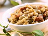 White Beans with Cabbage recipe