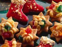 Christmas Star and Boot Cookies
