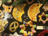 Christmas Tree Butter Cookies recipe