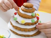 Festive Gingerbread Stack recipe