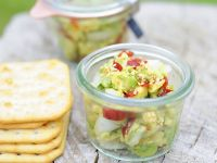 Chunky Avocado Salad recipe