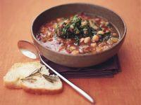Chunky Garbanzo Broth recipe