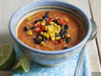 Chunky Mexican Broth recipe
