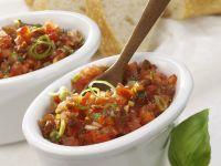 Chunky Tomato and Basil Salsa recipe
