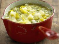 Chunky Veggie Broth recipe