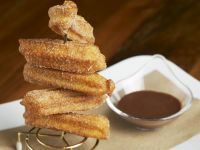 Churros and Spiced Chocolate Sauce recipe