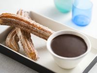 Churros with Dipping Chocolate recipe