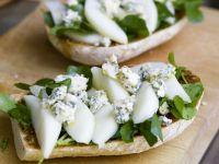 Ciabatta with Pears, Stilton and Watercress recipe
