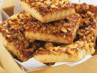 Cinnamon-Nut Bars recipe