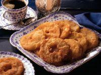 Cinnamon Sugar Apple Fritters recipe