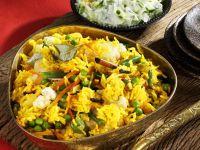 Cinnamon Vegetable Rice (India) recipe