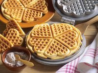 Cinnamon Yogurt Waffles recipe