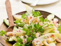 Citrus and Chicory Salad with Shrimp recipe