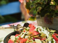 Citrus and Fruit Salad Plate recipe