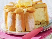 Citrus and Sponge Finger Pudding recipe