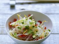 Rice Noodle Bowl with Coriander recipe