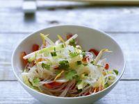 Citrus Asian Rice Noodles recipe