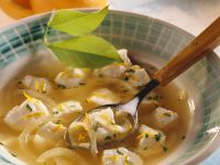 Citrus-flavored Monkfish Soup recipe