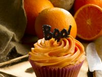 Citrus Fruit Halloween Cakes recipe