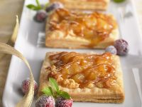 Citrus Fruit Pastry Squares recipe
