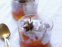 Citrus Fruit Preserve with Soft Cheese recipe