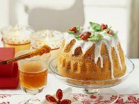 Citrus Glazed Walnut Bundt Cake recipe