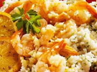Citrus Rice with Shrimp recipe